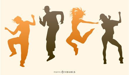 Baile fiesta vector