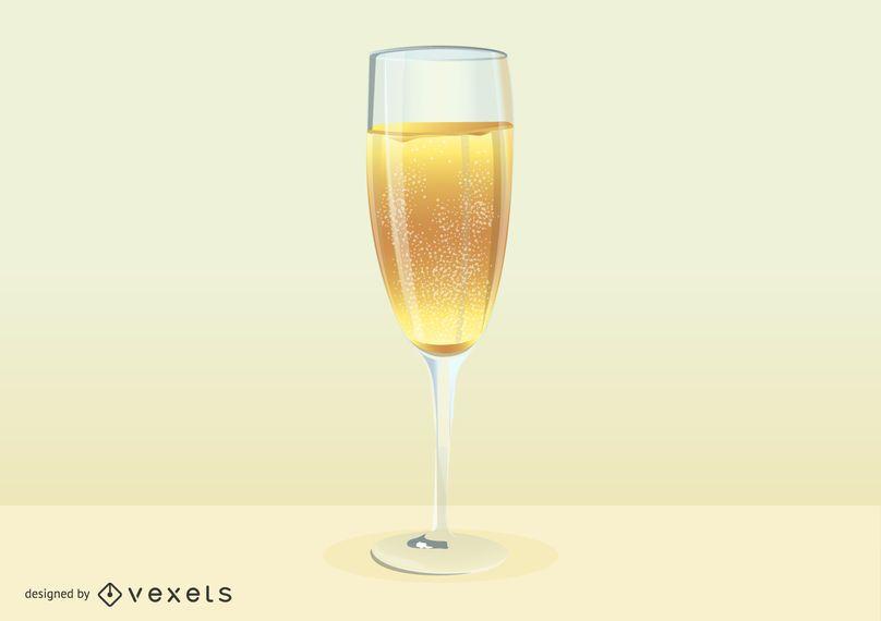 Copa de champagne