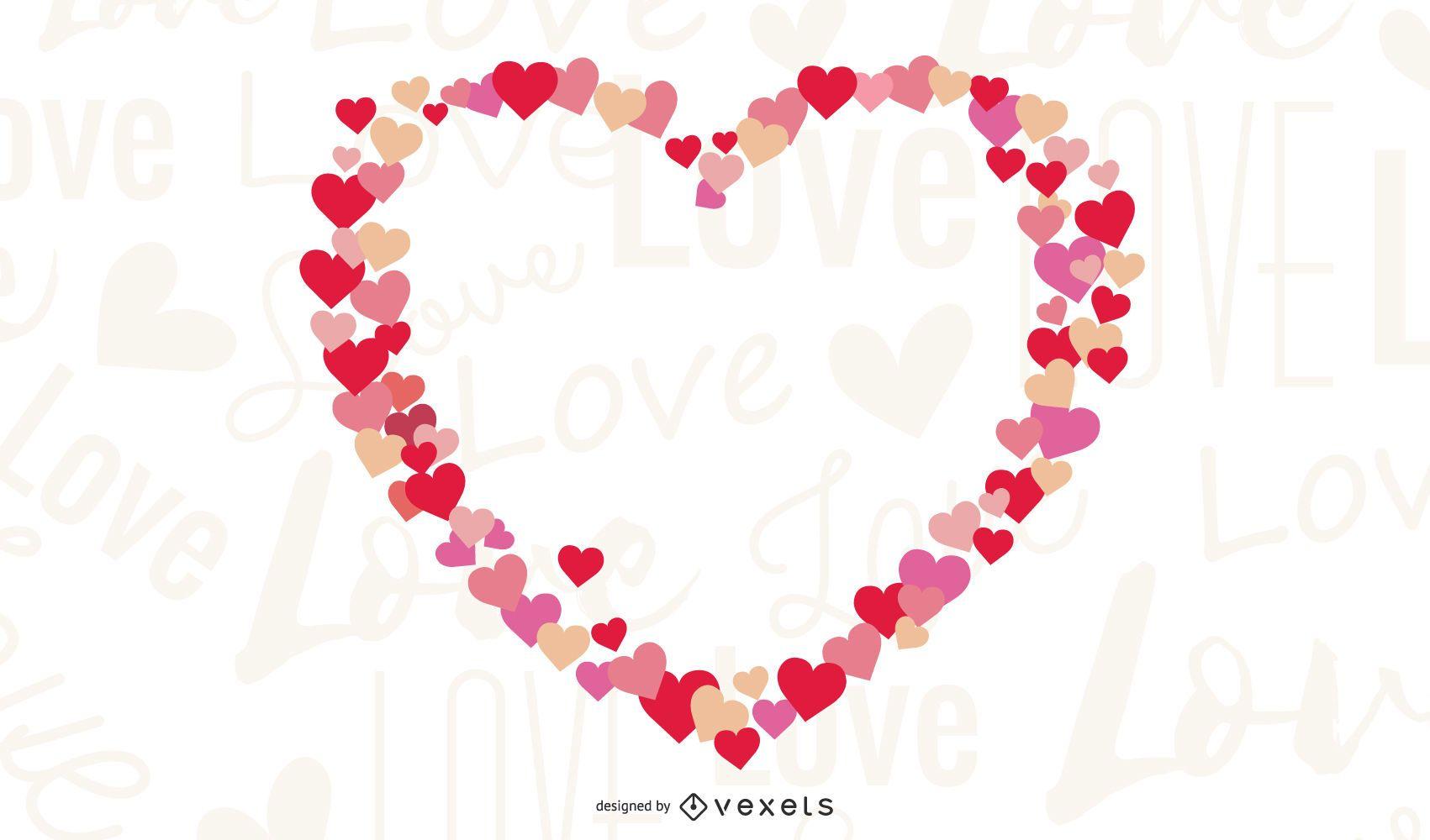Ilustración de vector de corazón