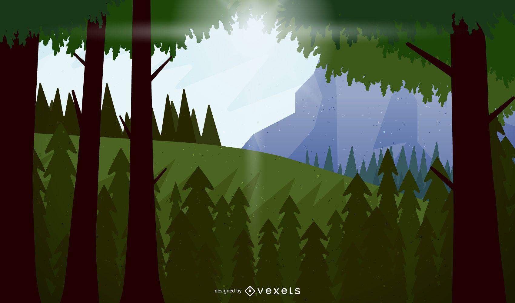 Simple Vector Landscape