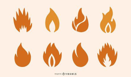 Elementos de design de fogo
