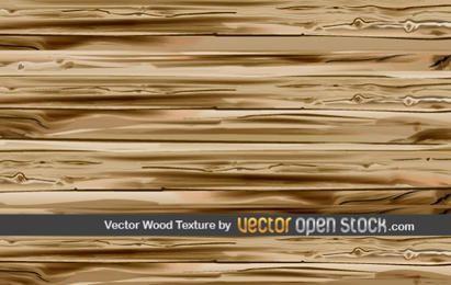 Vector textura de madera