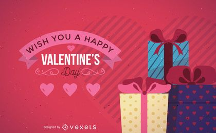 Valentinstag-Karten-Vektor