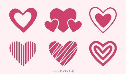 Heart Icon Design Pack
