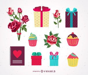 Valentine's Day Vector Gifts