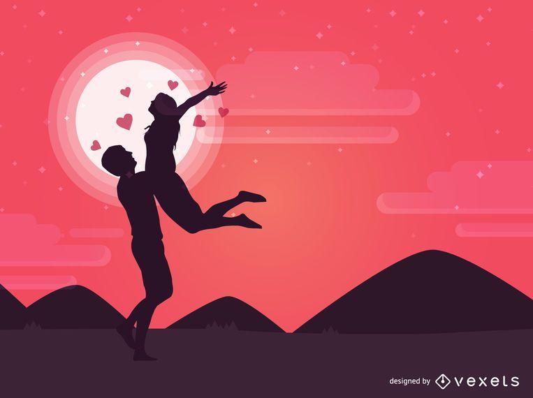 Día de San Valentín Pareja