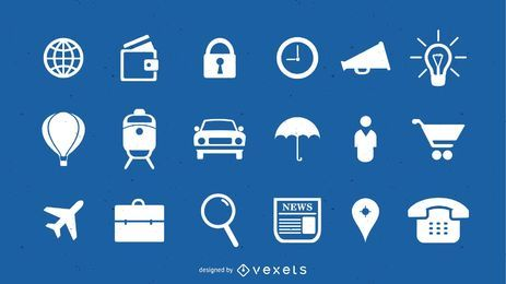 Pack de iconos vectoriales gratis