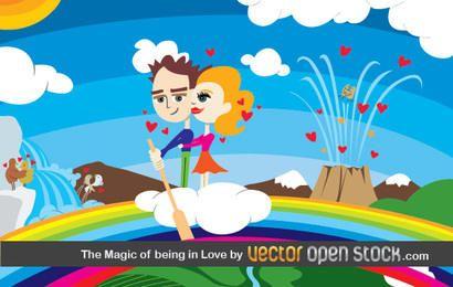 La magia de estar en el amor
