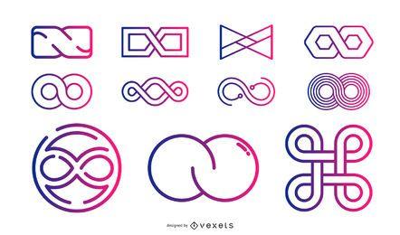 Colección de elementos de diseño vectorial