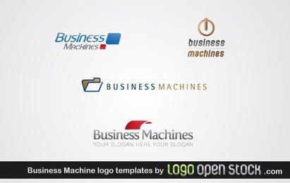 Business Machines Logo Template