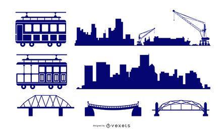 Gráficos vectoriales urbanos 11005