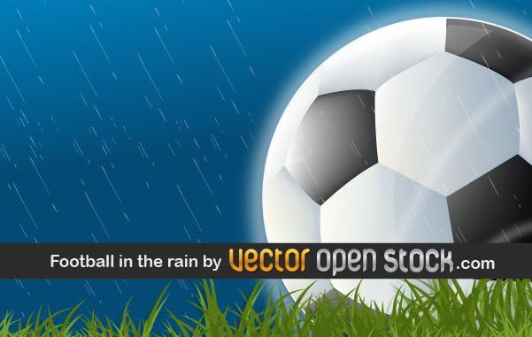 Futbol en la lluvia