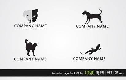 Tiere Logo Pack