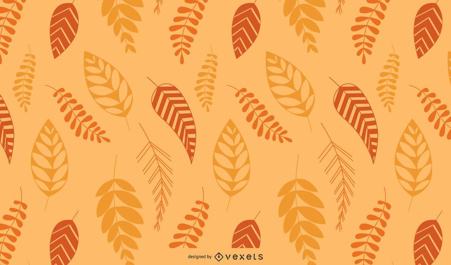 Fall Floral Colorful Background
