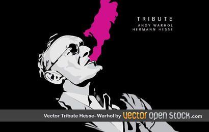 Vector Tribute Hesse-Warhol