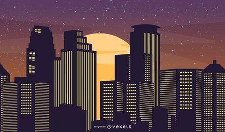 Vida noturna da cidade