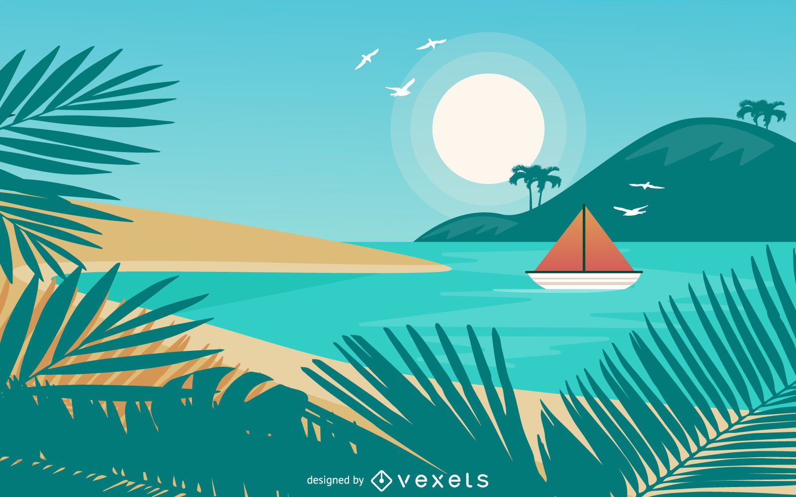 Summer Tropical Design