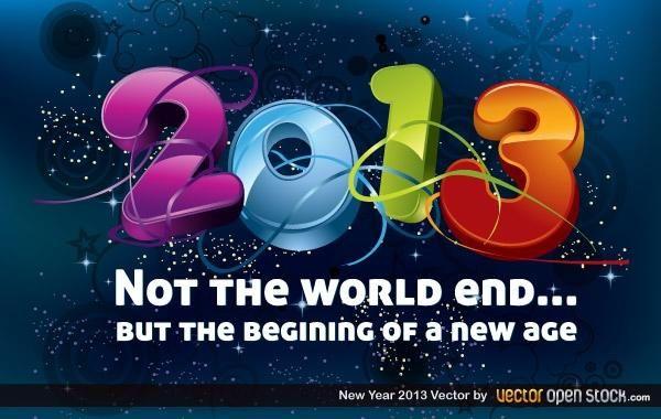 Neues Jahr 2013