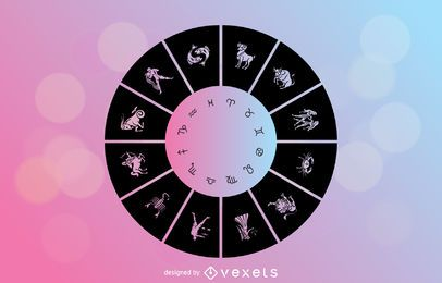 Horóscopo Signos Vector