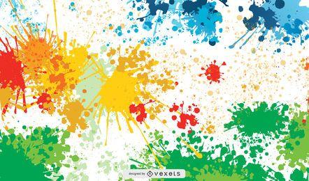 Arte colorido vector libre
