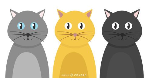 Social Cat Set