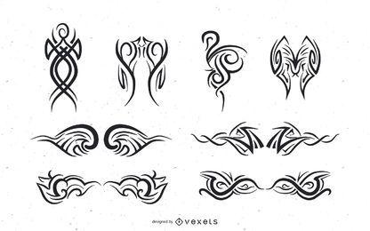 ilustrador de vectores tribales