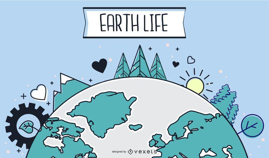 Erde Leben
