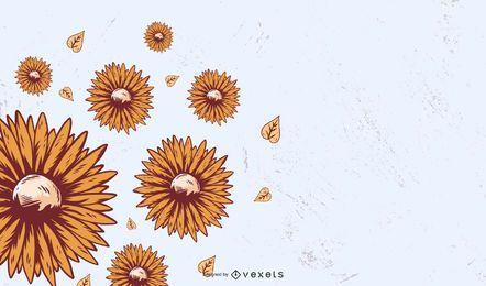 Blumenhintergrund 23