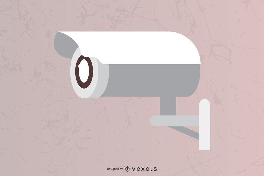 Vector de cámara de seguridad