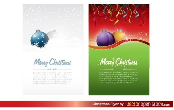 Flyer de Navidad