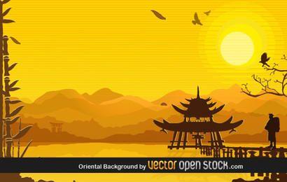 Orientalischer Hintergrund