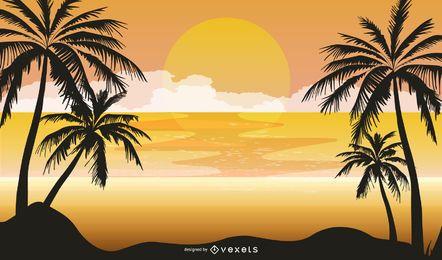 Vetores de sonho de verão