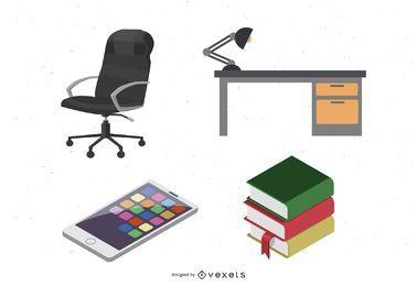 Büro-Vektoren von Dezignus.com