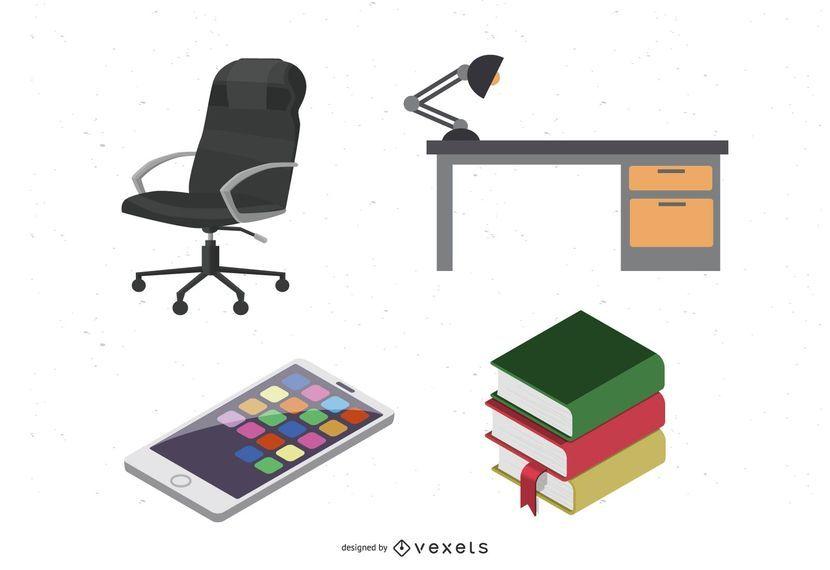 Office Vectors by Dezignus.com