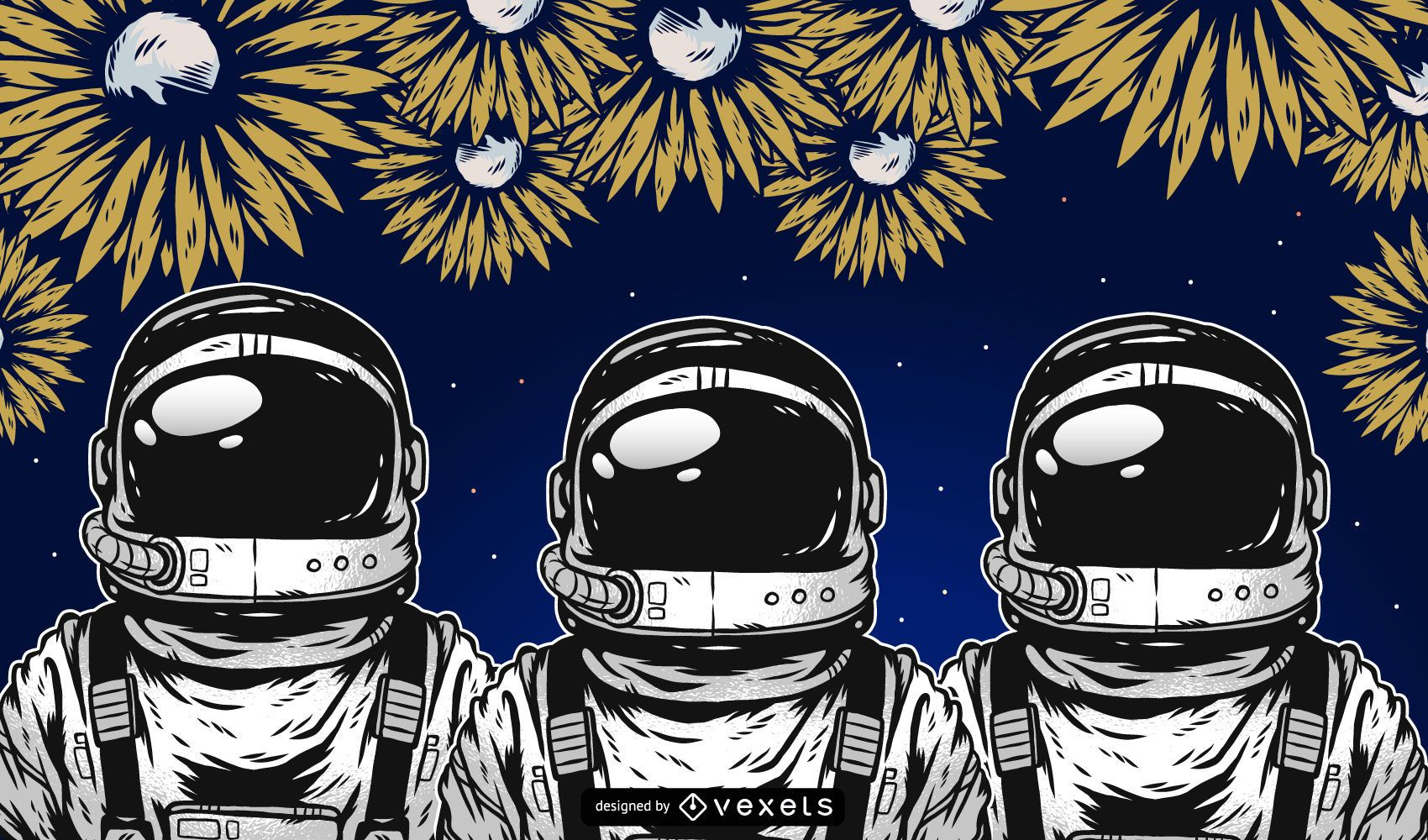 Astronaut Vector Graphics