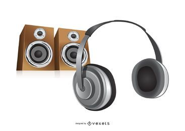 Music Headphone & Speakers