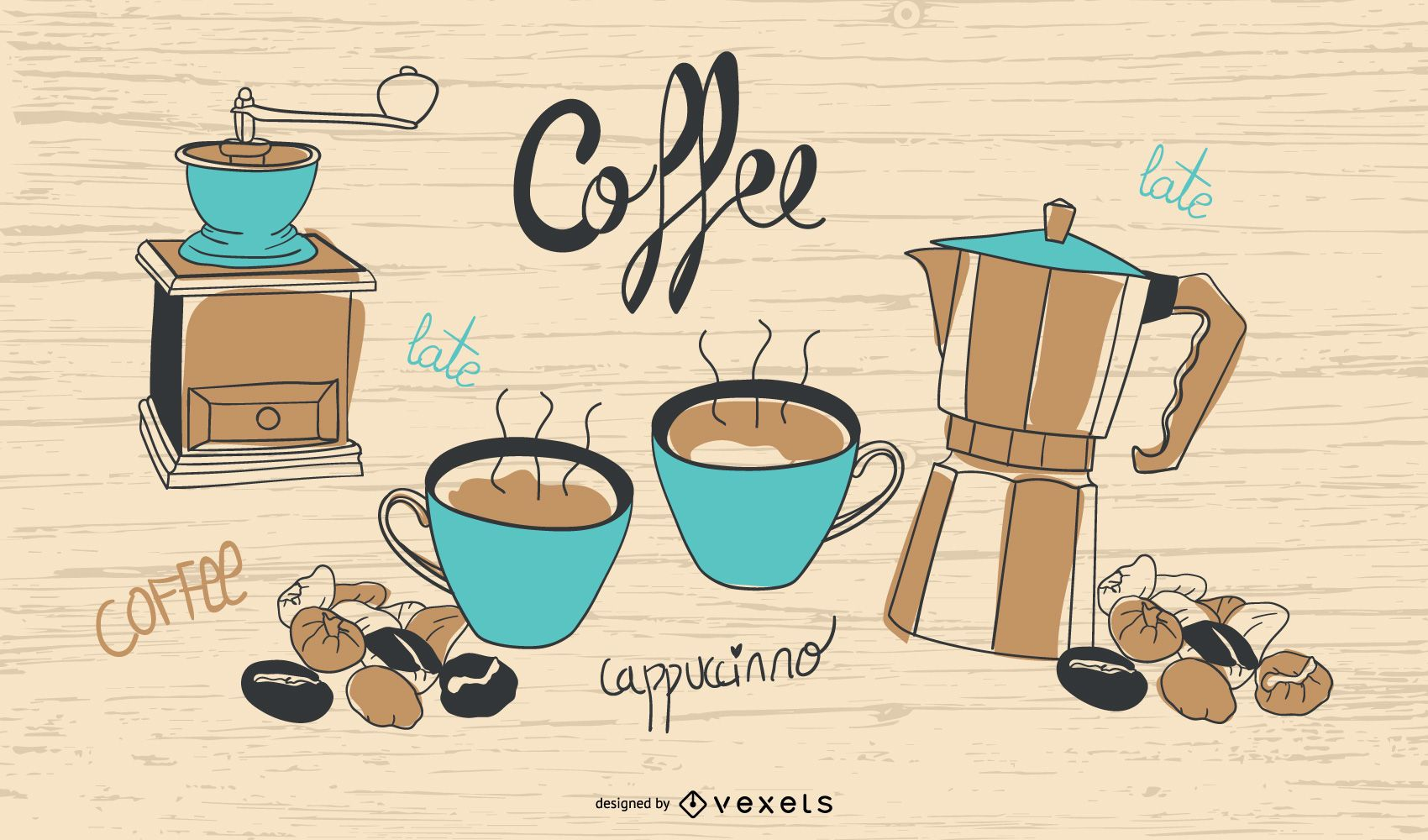 Vintage Coffee Time