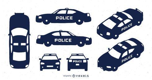 Coche de policía Fiat