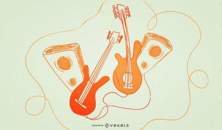 Tarjeta de música