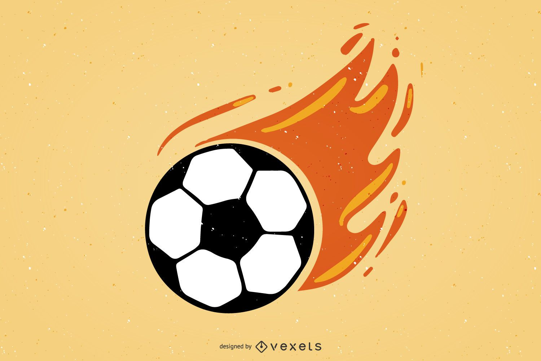 Fútbol ardiente
