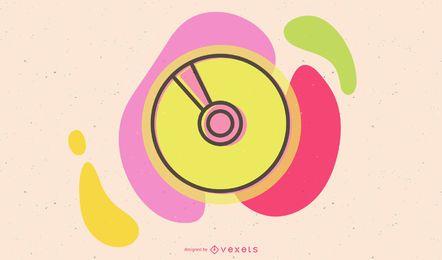 CD colorido