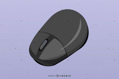 Ratón inalámbrico para computadora