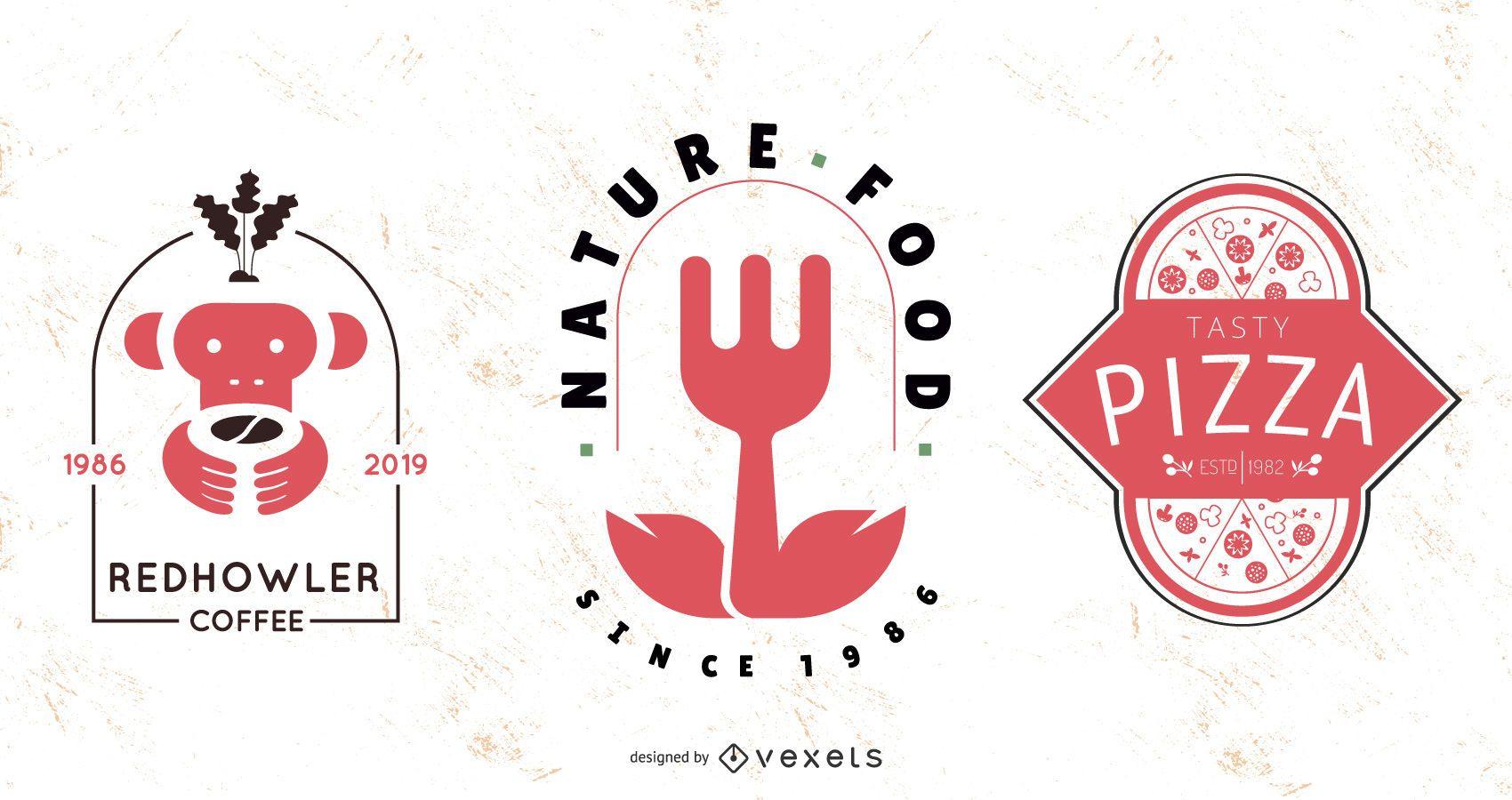 Paquete de logotipo vectorial