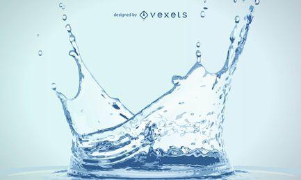 Água realista
