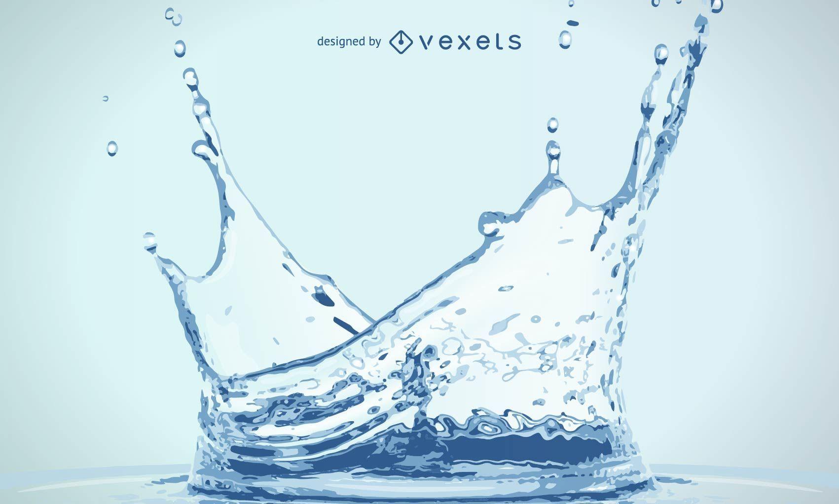 Agua realista