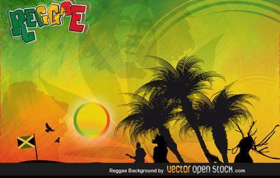 Fondo de reggae