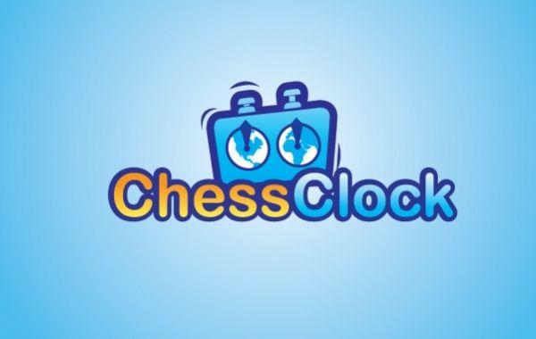 Logotipo del reloj de ajedrez