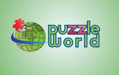 Puzzle-Weltlogo