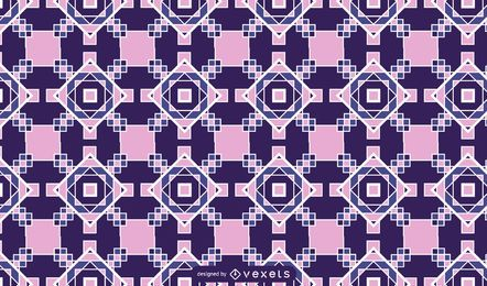 Geometrisches Mosaikmuster