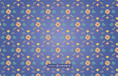 Blumen nahtloses Muster